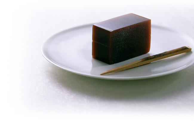 黒豆茶羊羹