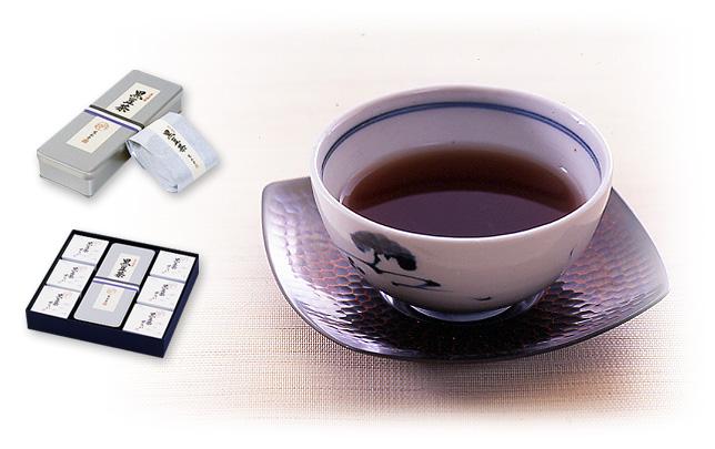 京都三条菓子司|寛永堂|黒豆茶